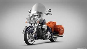 Indian Chief Vintage motorcycle desktop wallpapers 4K Ultra HD