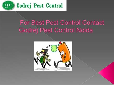 For Best Pest Control Contact Godrej