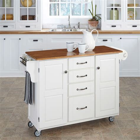 white kitchen cart home styles create a cart white kitchen cart with towel