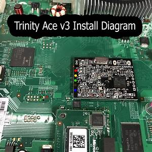 Weird Xbox 360 Slim Motherboard