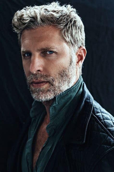amazing gray hairstyles  men feed inspiration