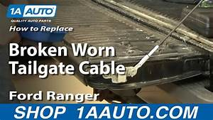 How To Replace Tailgate Cable 93-11 Ford Ranger