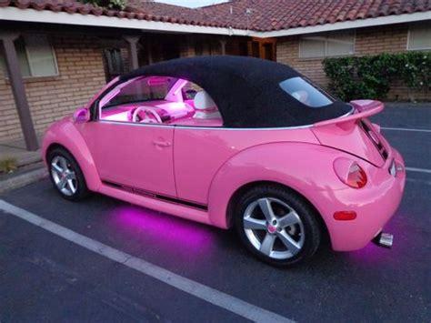 pink convertible volkswagen volkswagen beetle convertible pink