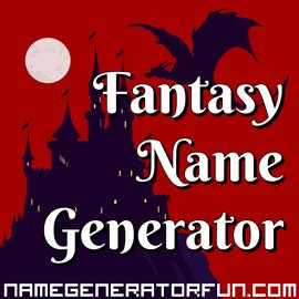 fantasy  generators  magical humans  mythical