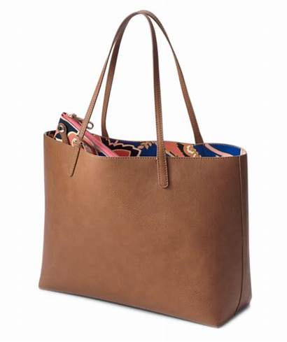Bags Tote College Brown Students Stylish Bag