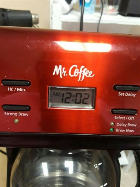 Coffee® coffee makers online, article, story, explanation, suggestion, youtube. Mr. Coffee 12 Cup Coffee Maker Delay Brew Clock BVMC KNX26 ...