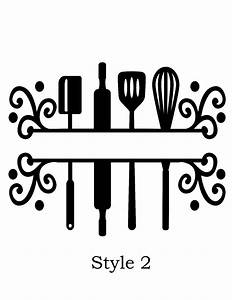 personalized cutting board vinyl decal by southerlycharm With decal lettering styles