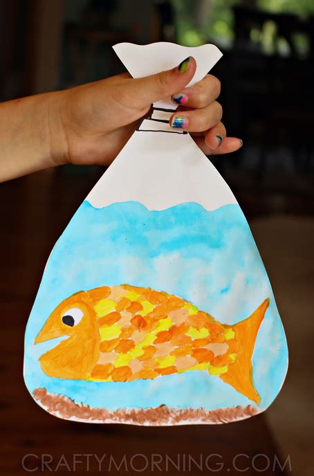 adorable goldfish in a bag craft and crafts 303 | 871fba68b7844b6099bc319276dc6b49