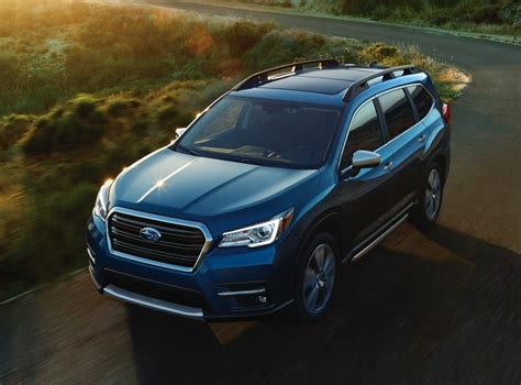 2019 Subaru Ascent 8seater Suv Officially Unveiled