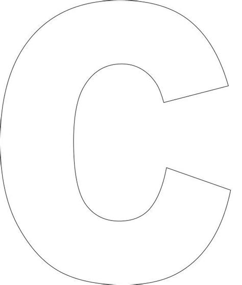 printable upper case alphabet template craftgift