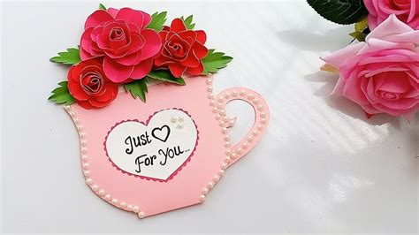 specially  friendship day  easy greeting card