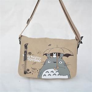 2016 Anime My Neighbor Totoro Messenger Canvas Bag ...
