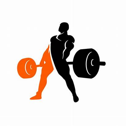 Deadlift Powerlifting Weightlifting Weight Silhouette Clipart Bench