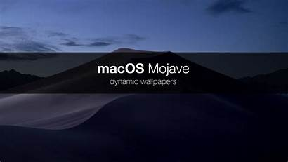 Macos Dynamic Wallpapers Mojave Apple Desktop Dark
