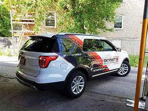 Business Budget Example Partial Vehicle Wraps In Sight Sign Company