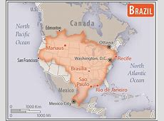 South America Brazil — The World Factbook Central