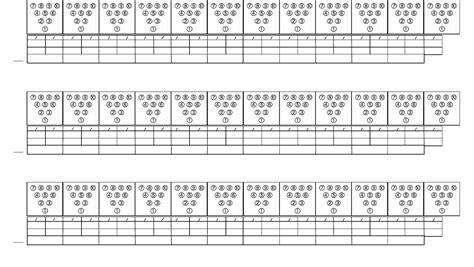 bowling score sheet form  word   formats