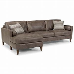 flexsteel latitudes vivian contemporary sectional with With harrison left facing sectional sofa