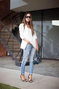 Jean Bleu Troué Femme : style jeans femme ~ Melissatoandfro.com Idées de Décoration