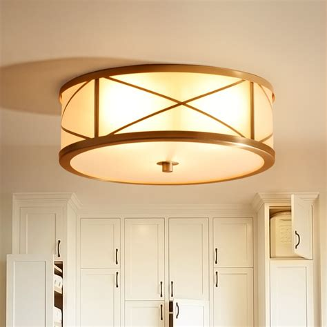 Led Lights For Room Where To Buy by Aliexpress Buy Modern Copper Ceiling Light For