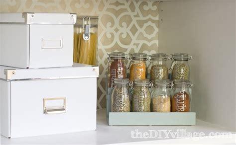 Diy Spice Jar Rack