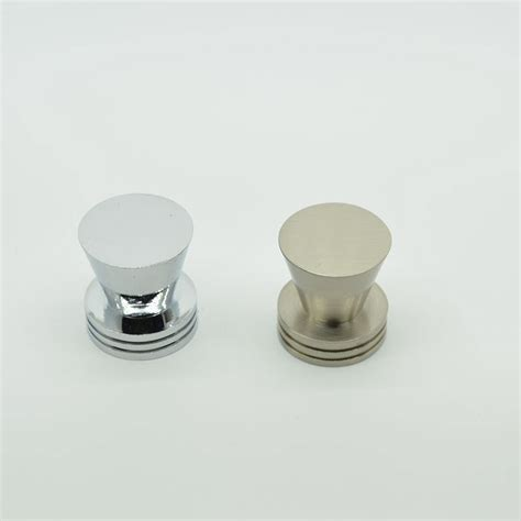 round chrome cabinet knobs round flat top zinc alloy single hole cabinet knobs and