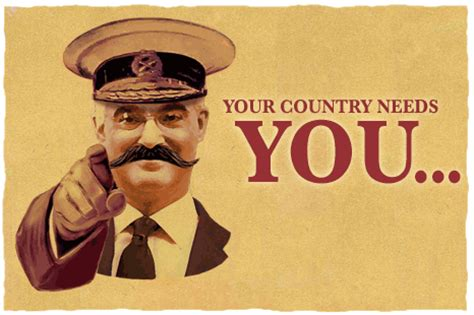 lord kitchener your country needs you news uk magazine should shopping be a patriotic 9709