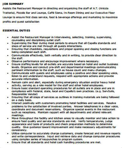supervisor resume sample  examples  word