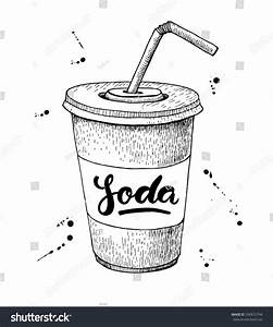 Image Gallery Soda Drawing