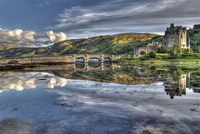 Eilean Donan Castle Loch Duich Scotland Hdrcreme