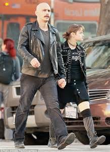 James Franco and 15-year-old co-star Joey King on the set