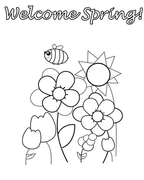 spring coloring pages for preschoolers preschool coloring pages az coloring pages 784