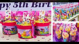 My Little Pony Party Themed Decorating Ideas YouTube