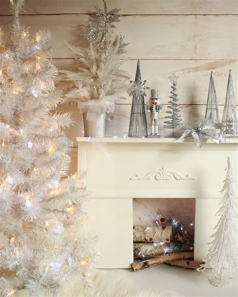 Background Winter Backdrop Ideas by Silver Fireplace Backdrops White