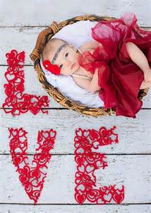 Valentine's Day Baby Photography