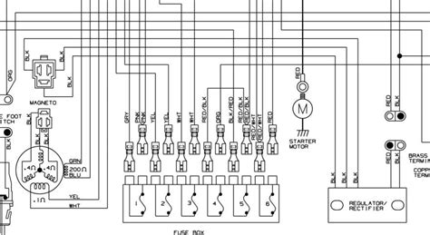2004 Arctic Cat 250 Wiring Diagram Schematic by I Fried The Rectifier In A 99 Arctic Cat 400 4x4 The