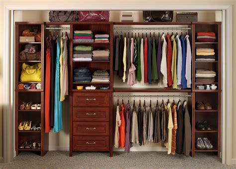 Solid Wood Closet Organizers With Many Advantage