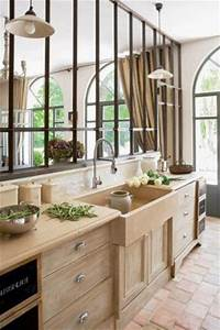 50 verrieres deco pour la cuisine la chambre ou la salle With meubles blancs style bord de mer 6 blog deco dhelline