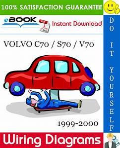 Volvo C70    S70    V70 Wiring Diagrams 1999