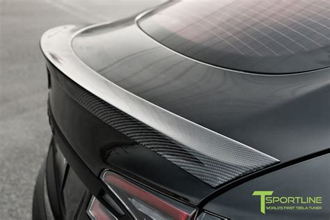 Download Tesla Carbon Fiber Spoiler Pictures