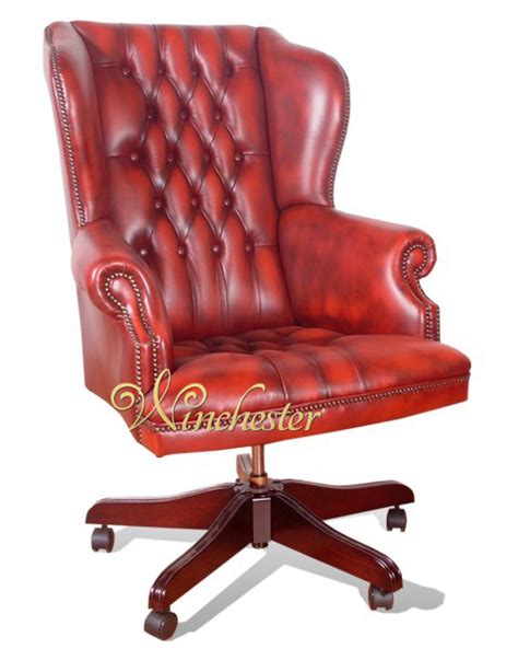 chesterfield commander chair wc png