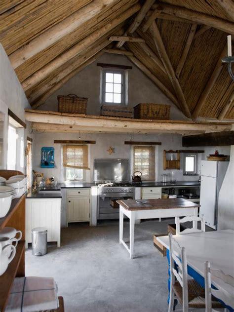 simplicity warms  cottage kitchen hgtv