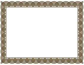 modern resume format download certificate borders vector it resume cover letter sle