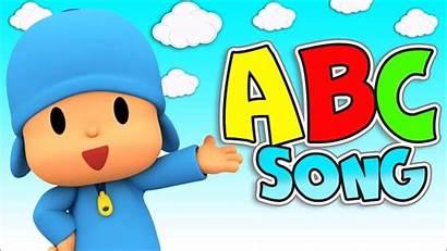 Abc Song Clipart Alphabet Jungle Songs Pocoyo