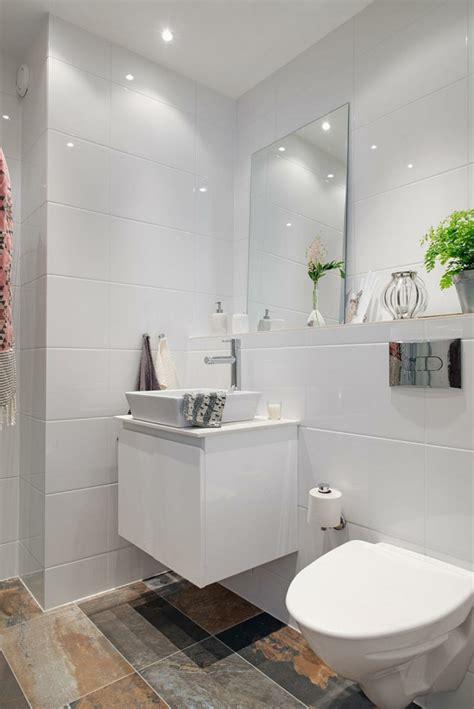 wandgestaltung bad  ideen fuer badezimmergestaltung mit