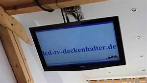Tv Deckenhalterung Schwenkbar : tv deckenhalter elektrisch mit lcd 50zoll youtube ~ Orissabook.com Haus und Dekorationen