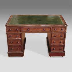 antique pedestal desk victorian pedestal desk antique