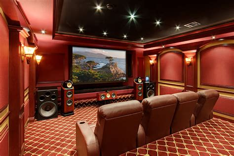 home theater loft sound vision