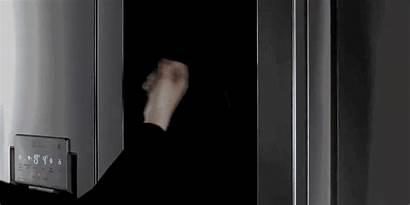 Lg Knock Door Inside Instaview Twice Hand