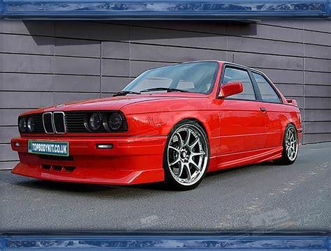 Rvs carbon bilaterale dubbele out uitlaat mufflertip fit bmw f30 b48 3 serie 320i 328i 330i veranderd m3 bodykit. BMW E30 M3 Front Bumper EVO